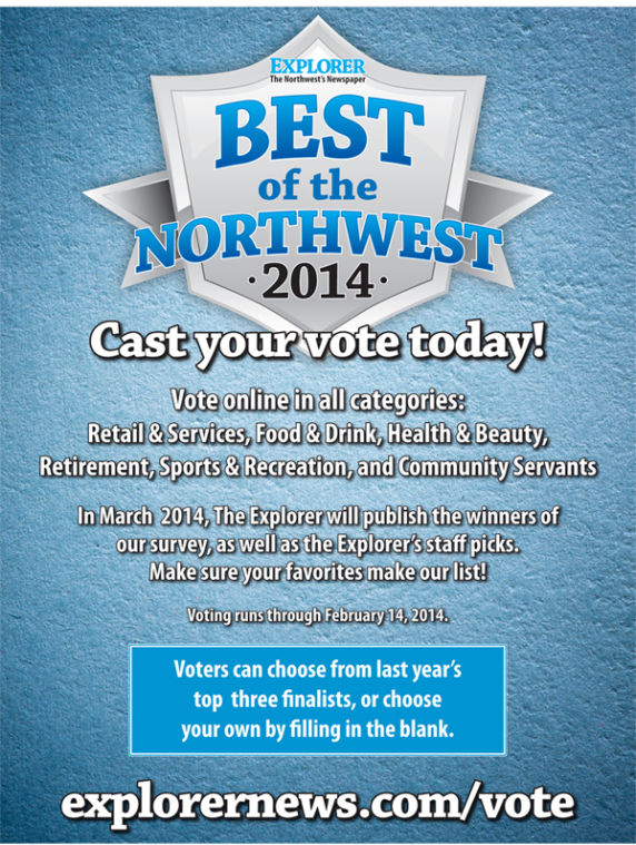 Best of NW Voting